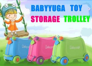 BABYYUGA TOY STORAGE TROLLEY N00592