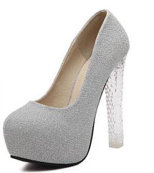 Shoe 2731 Silver | Purple
