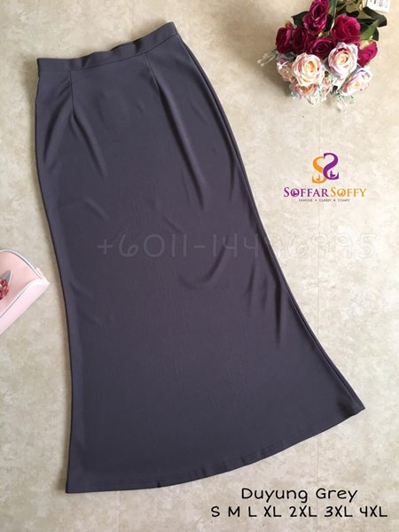 SKIRT DUYUNG GREY