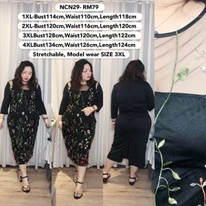 NCN29 *Bust 45 to 53 inch/ 114-134cm