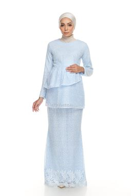 Sri Mellur Kurung Exclusive - BABY BLUE