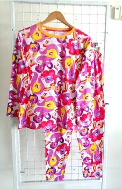 Pyjamas LITTLE PONY PINK WHITE : Size DEWASA 3XL