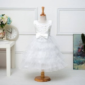 Bridesmaid Pageant Princess Dress