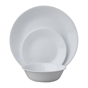 CORELLE Livingware Winter Frost White 18pcs