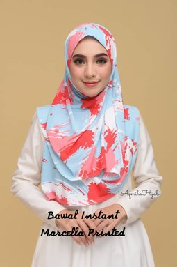 BAWAL INSTANT MARCELLA PRINTED