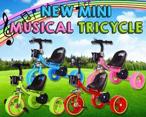 NEW MINI MUSICAL TRICYCLE