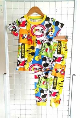 Pyjamas MICKEY PINOCCHIO WHITE : KIDS size 2 - 10 (HELAL)