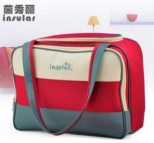 Original Insular Diaper bag - Red Blue