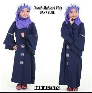 Jubah Mahsuri Kidz Dark Blue