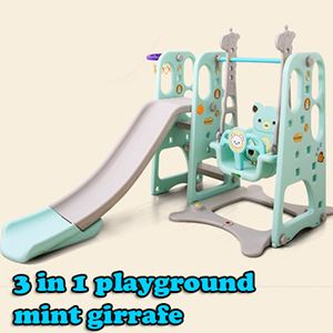 3 IN 1 PLAYGROUND MINT GIRAFFE N01070