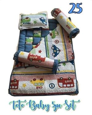 25 BABY TOTO 5PC SET PATCHWORK