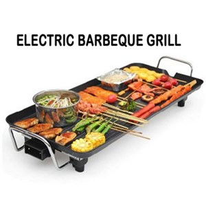 Korea Electric BBQ Grill/Teppanyaki/Tough Non-stick Surface Hot Plate
