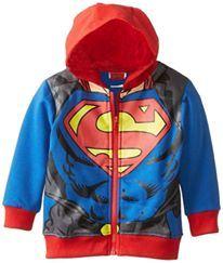 @  H222-B  SUPERMAN  JACKET (  SZ 80 - 120 )