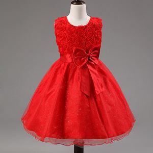 Girls Princess Dress - RED  ( SZ 70-160 )