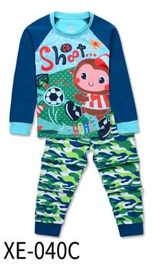 XE-040C 'Monkey ' KIDS PYJAMAS (2T-7T)