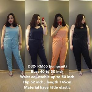 D32 *Ready Stock *Bust 40-50 inch
