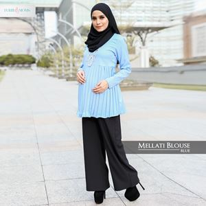 Mellati Blouse -  Blue