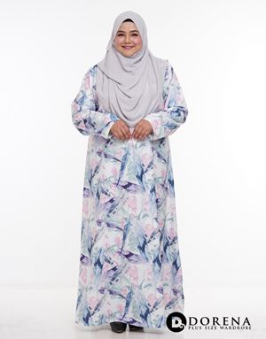 Jubah Thalia Purple
