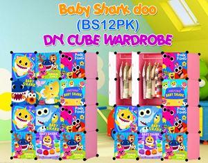 Baby Shark Doo PINK 12C DIY WARDROBE (BS12PK)