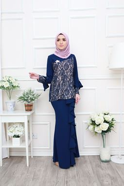 OLIVIA KURUNG - OXFORD BLUE