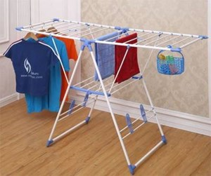 FOLDABLE CLOTHES DRYING STAND RACK