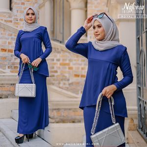 IRIS KURUNG ROYAL BLUE