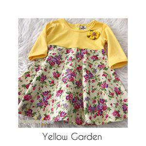 SALE Aisya Dress ( Yellow Garden ) - tinggal XXS (paling kecil)