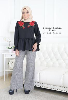 Blouse Sephia Black
