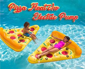 Pizza Float c/w Electric Pump