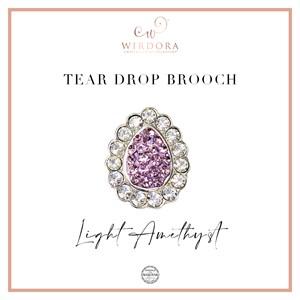 Brooch Inara (Limited Edition) - Light Amethyst