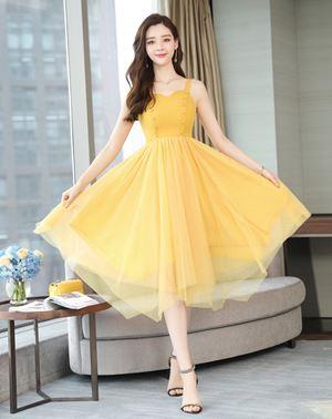 Yellow Fairy Mesh Dress
