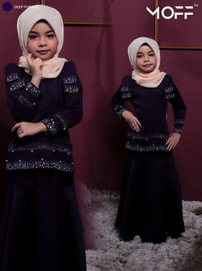 KURUNG REMAJA PETRA DEEP PURPLE
