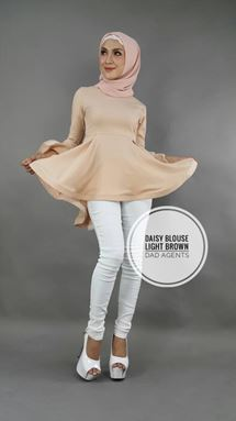 Daisy Blouse Light Brown