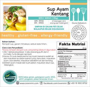 STARTER PACK : Sup Ayam Kentang - Broth Soup
