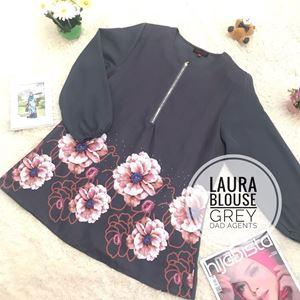 Laura Blouse Grey