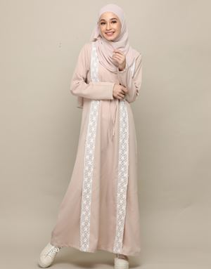 ERENY DRESS IN NUDE