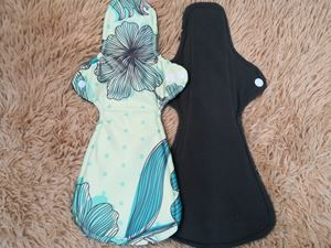 Cloth Pad - Floral ( Serenity )  Size XL