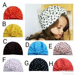 BABY AND KIDS CUTE DOTDOT TURBAN