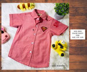 Superman Dusty Pink (BS03)
