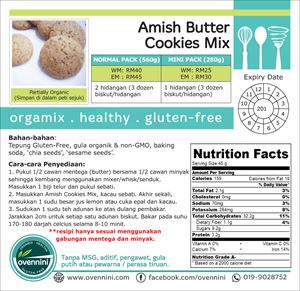 Amish Butter Cookies Mix