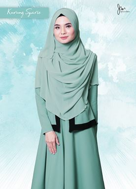 KURUNG  SYARI 06 (MINT GREEN)