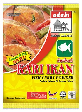 ADABI KARI IKAN POWDER