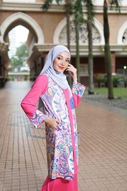 Baju Kebarung Jameela (KJ107) - Koleksi Raya 2019