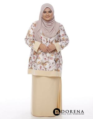 Kurung CHANTEQ Latte