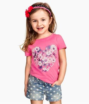 @  G077/14 PINK TOP+BLUE DOT PANT  ( SIZE 6Y )