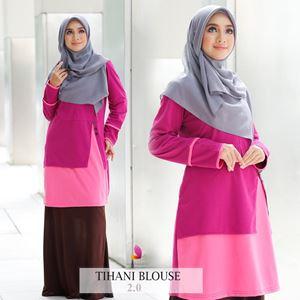 Tihani Blouse (Pink)