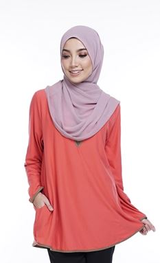 Marissa Blouse MR22 - Size Big (XL- 2XL)