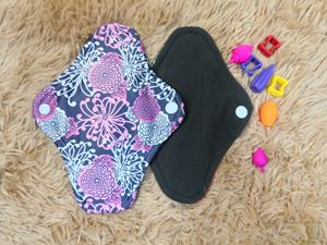 Cloth Pad -Floral ( Be Gentle)  Size S