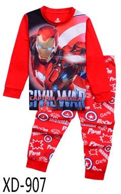 XD-907 'Iron Man' KIDS PYJAMAS