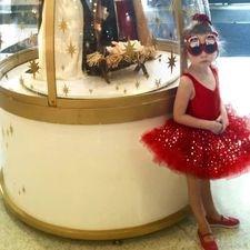 Red Tutu Little Star Princess Dress